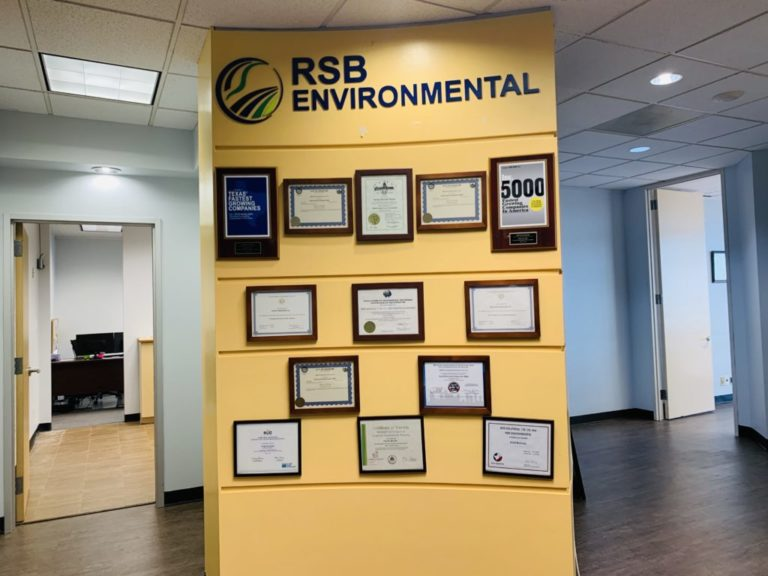 Corporate Office of RSB Environmental in Houston